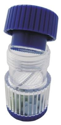 Tablettenmörser blau mit Schraubdeckel