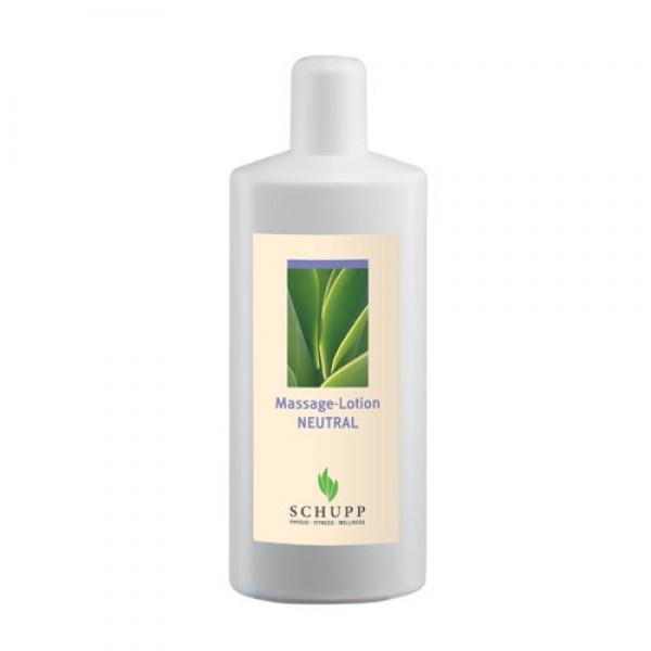 Schupp Massage-Lotion Neutral 6 x 1000 ml + 1 Spender