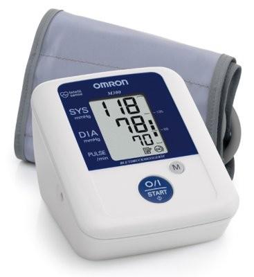 OMRON M300 Oberarm-Blutdruck- Meßgerät m.Manschette 22-42cm