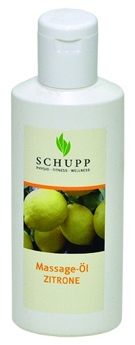 Schupp Massage-Öl Zitrone 200