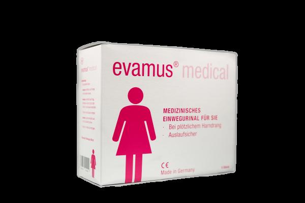 Evamus- das Notfall-WC für Frauen