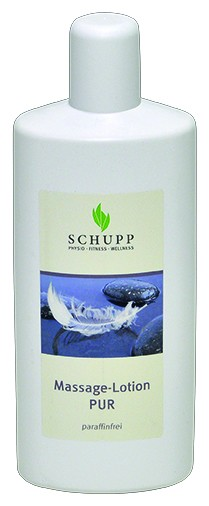 Schupp Massage-Lotion Pur paraffinfrei 6 x 1000 ml + 1 Spender