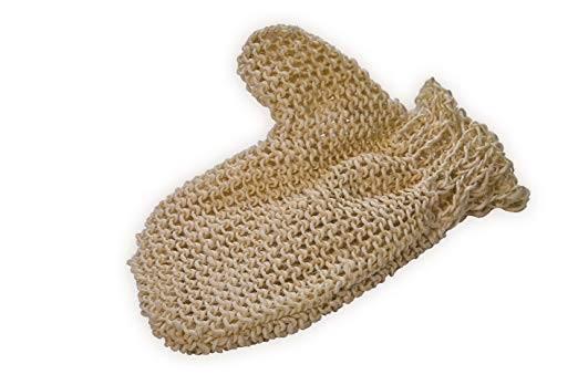 Sisal-Handschuh Peelinghandschuh fein
