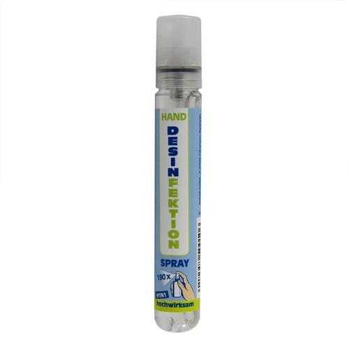DESIN Handdesinfektionsspray 15 ml to go wirksam gegen Bakterien Viren Pilze