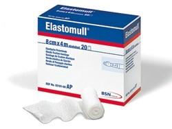 Fixierbinde ELASTOMULL, elastisch, gedehnt, 8cm x 4m, 1 Pck. à 20 Stück