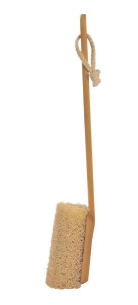 Massagebürste Luffa mit abnehmbarem Stiel