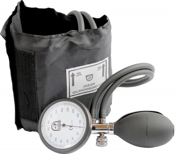 Blutdruckmessgerät + Stethoskop mit flachem Kopf