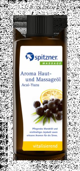 Spitzner Aroma Haut- und Massageöl Acai-Yuzu 190 ml